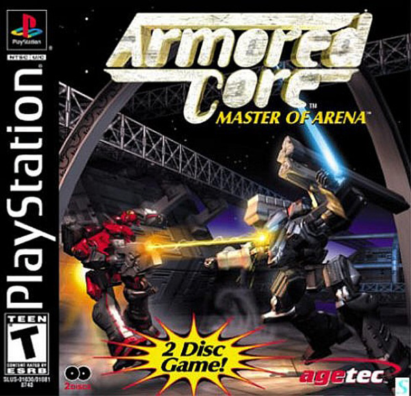 Armored Core - Master of Arena [Disc1of2] [U] Front Cover